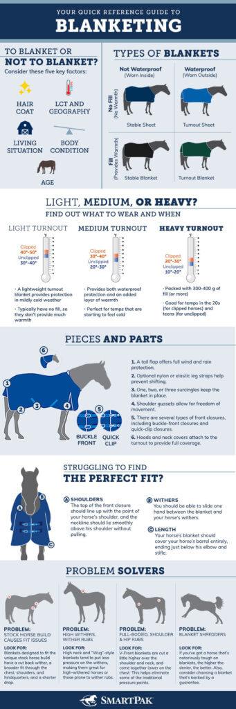 Horse Blanket Infographics
