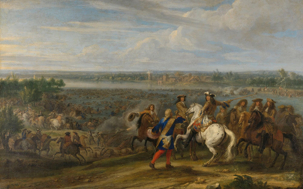 Louis XIV Crossing into the Netherlands