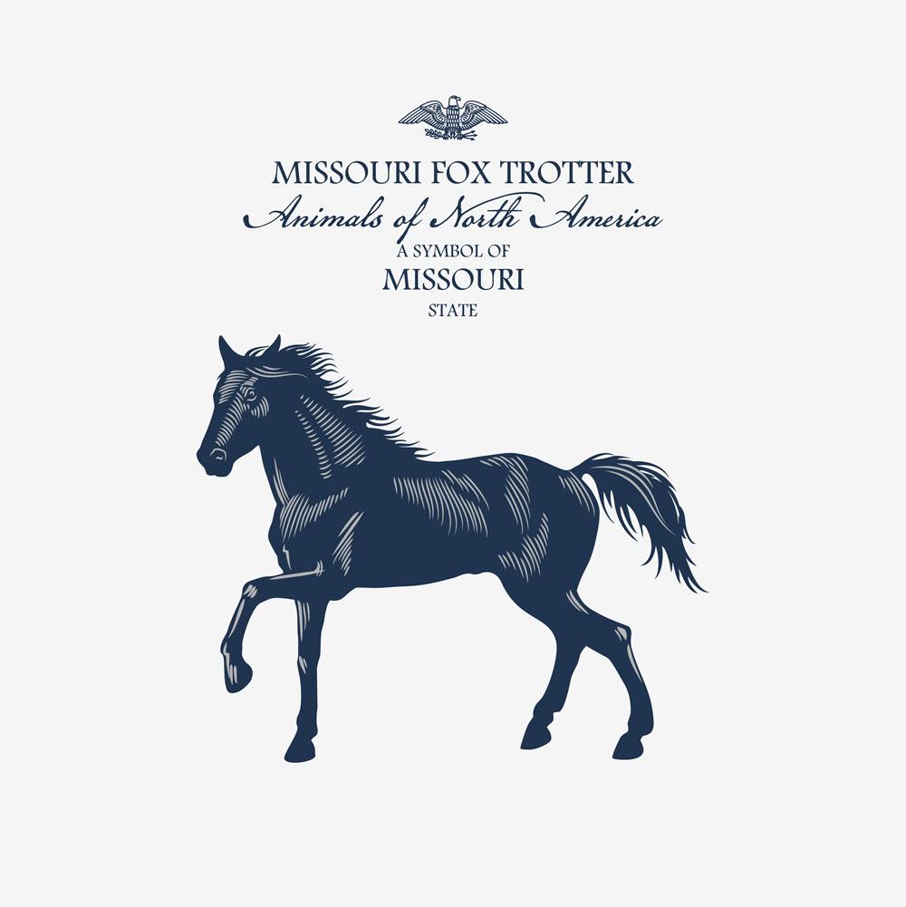 Missouri Fox Trotter state symbol