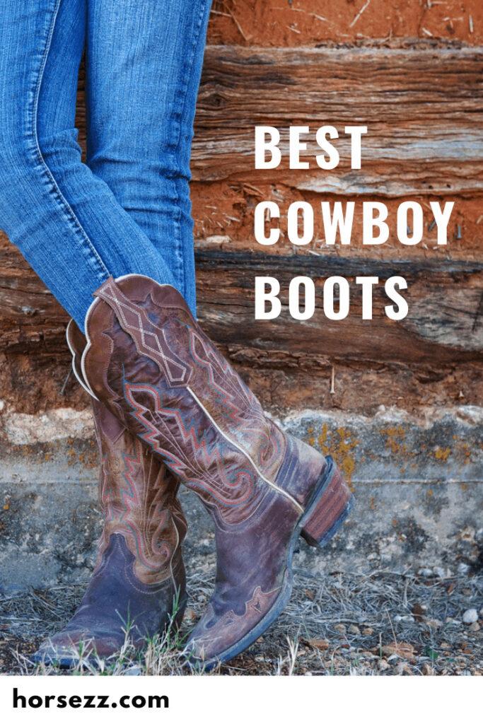 Social Comfortable Cowboy Boots