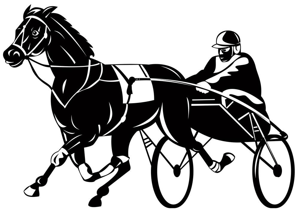 Standardbred Horse emblem