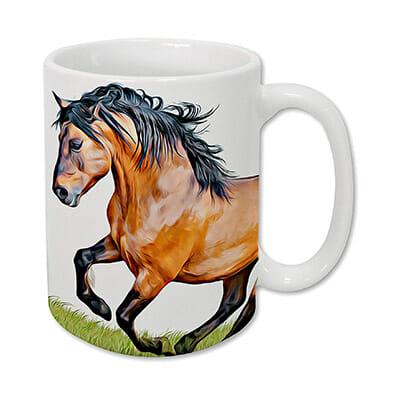 Sweet Gisele Horse Mug