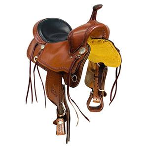 Used Billy Cook CJ Trail Saddle