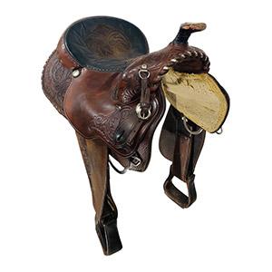 Used Circle Y Show Saddle 2878