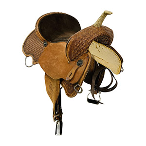 Used JB Heritage Barrel Saddle