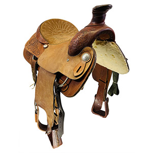 Used Saddle Smith Roping Saddle