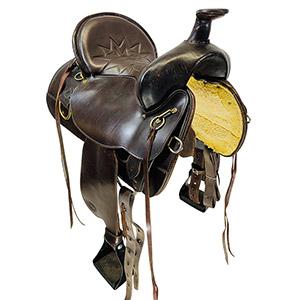 Used Tex Tan Trail Saddle