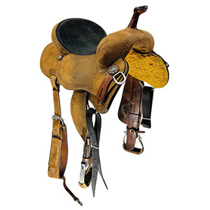 Used Top Hand Barrel Saddle Custom