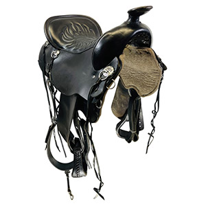 Used Tucker Cheyenne Frontier Trail Saddle