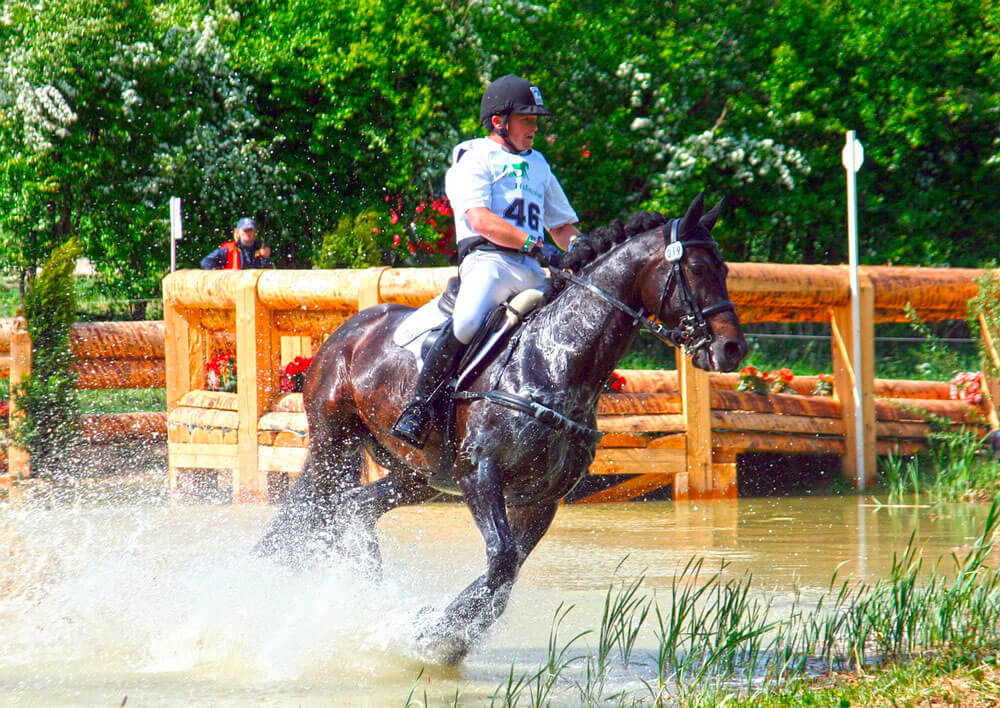 equestrian sport eventing