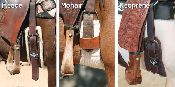horse cinch materials