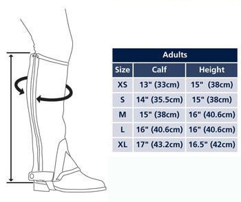 horse riding boots men size chart