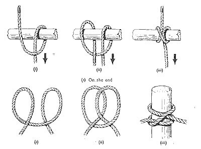 how to Clove Hitch