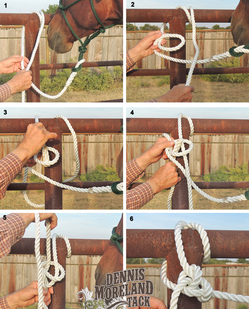 how to bowline knot