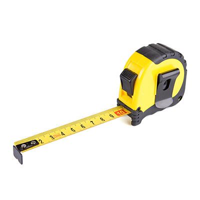 standard measuring tape